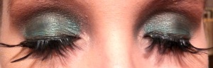Christmas Eye Look