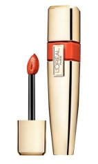 Loreal Colour Riche Caresse Aqua Lacquer Lipgloss Coral Tattoo